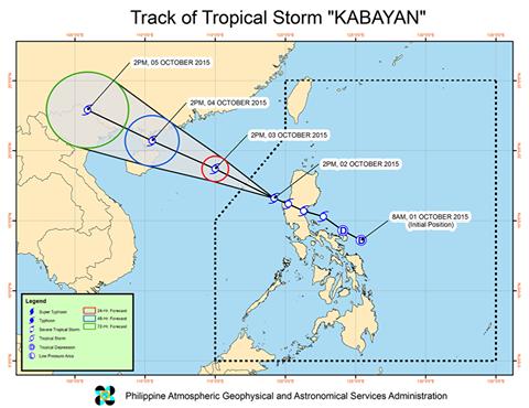 track Kabayan