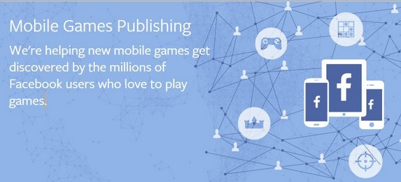 Facebook will publish games in the App Store & Android. In exchange for an advertising spot in the Facebook app, Facebook will part of the revenue.