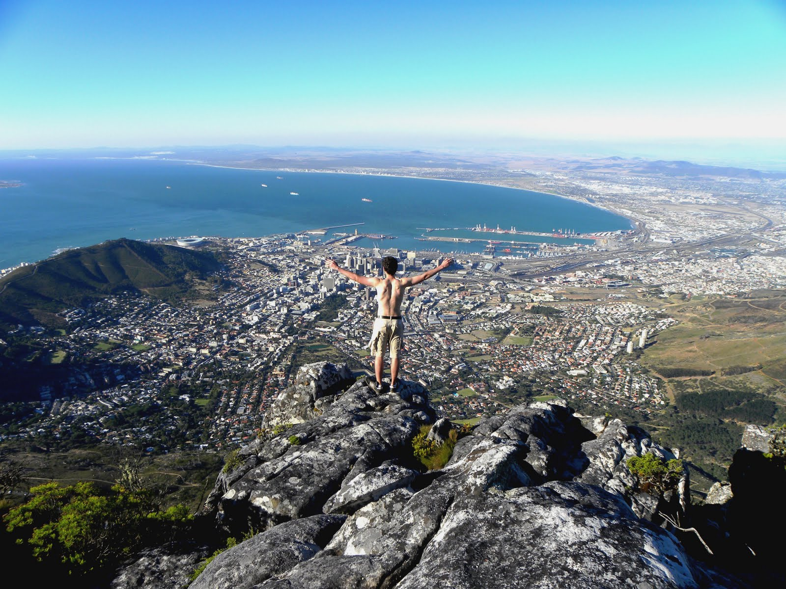 IES Abroad of the Day Cape Town from Table Mountain