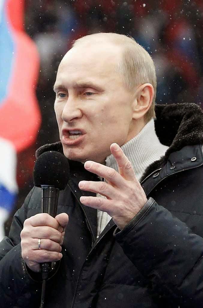 Gás de xisto tiraria força à agressividade de Putin