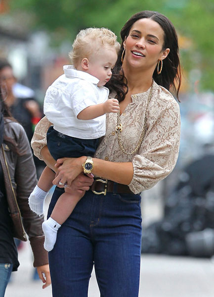 paula patton baby julian. paula patton son julian.