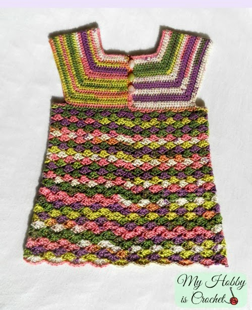 Free Crochet Patterns For Childrens Tops : My Hobby Is Crochet: Crochet Top Iris, Child Size 3-5 ...