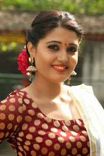 Tamil Actress Sandra Amy Picture Gallery at Thoppi Movie Audio Launch 2.JPG