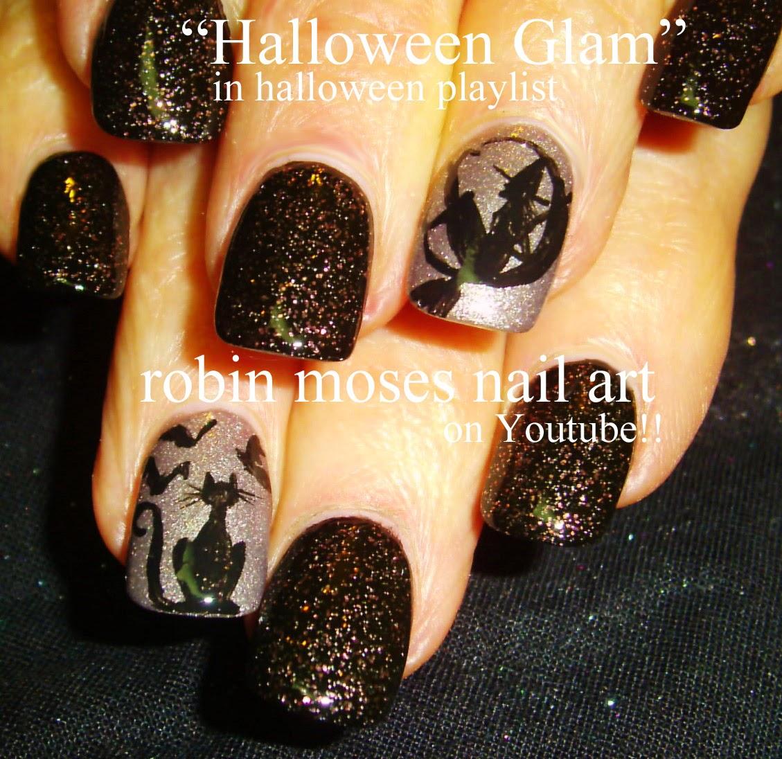 Robin moses nail art halloween nails halloween nail art pink nail art tutorials halloween nails diy easy halloween for beginners and up halloween nail art designs tutorial prinsesfo Choice Image