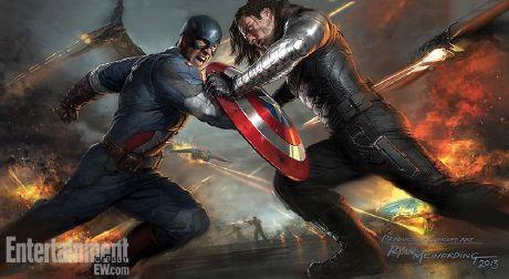 """""""El Capitán América: El Soldado de Invierno"""""""