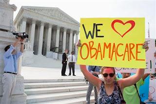 Obama Care Rocks –  စိန္ေခၚခံထားရသည့္ အေမရိကန္က်န္းမာေရးအာမခံခ်က္ဥပေဒကို ဗဟိုတရားရုံးက အတည္ျပဳ