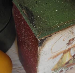короб с маслинами фрагмент