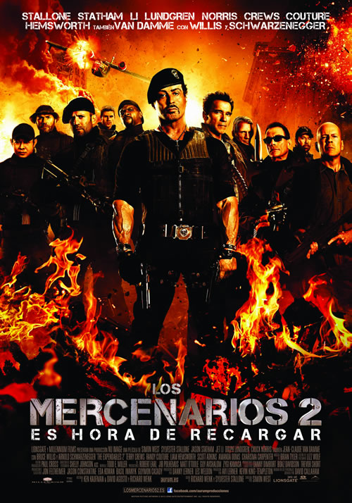 Los mercenarios 2 (The Expendables 2) (2012)