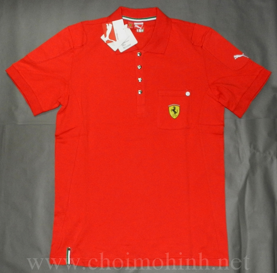 Áo thun Ferrari Puma sport lifestyle front