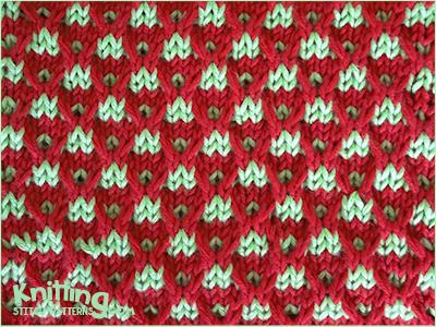 Two Color Sweater Knitting Patterns : Knitting Stitch Patterns