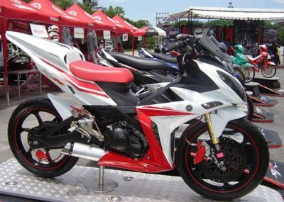 hasil modifikasi jupiter mx