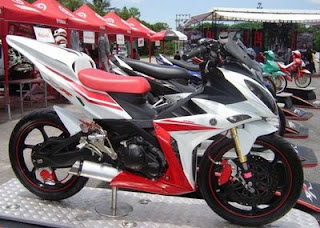 Foto modifikasi yamaha new jupiter mx terbaru 2012
