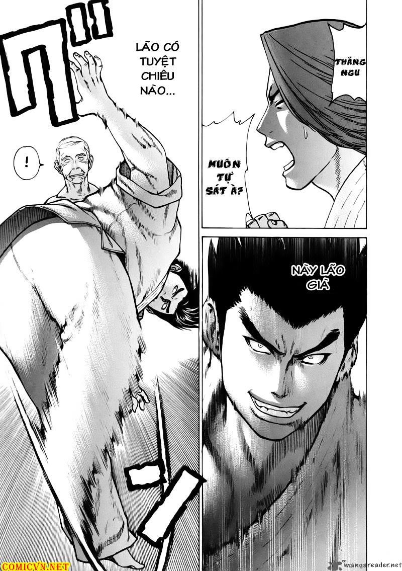 Karate Shoukoushi Kohinata Minoru chap 46 Trang 19