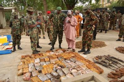 hezobollar arms,kano, hezobollar terrorist,security operatives,arms and ammunition,lebanese