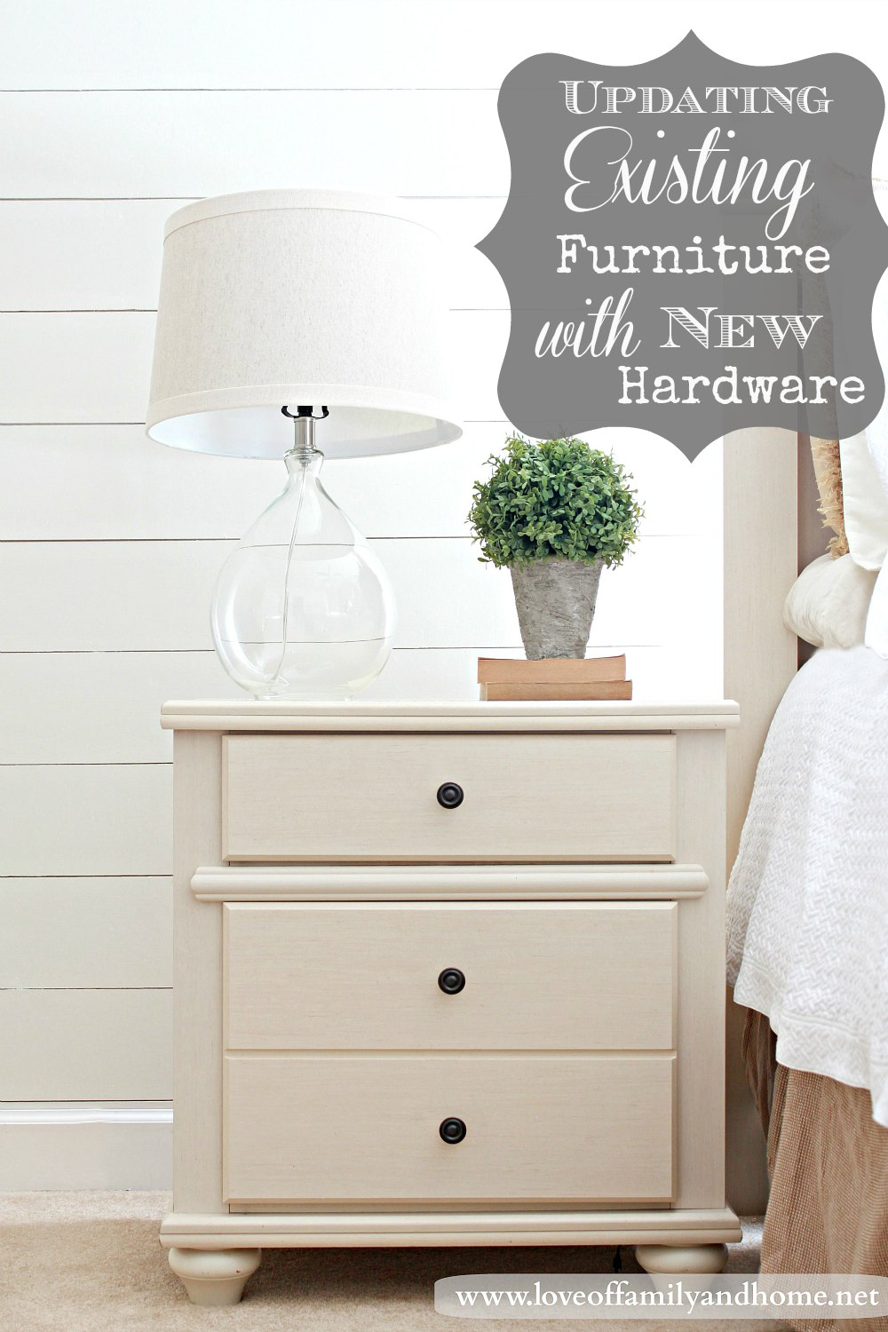 Updating Existing Furniture With New Hardware Master Bedroom Makeover Preview
