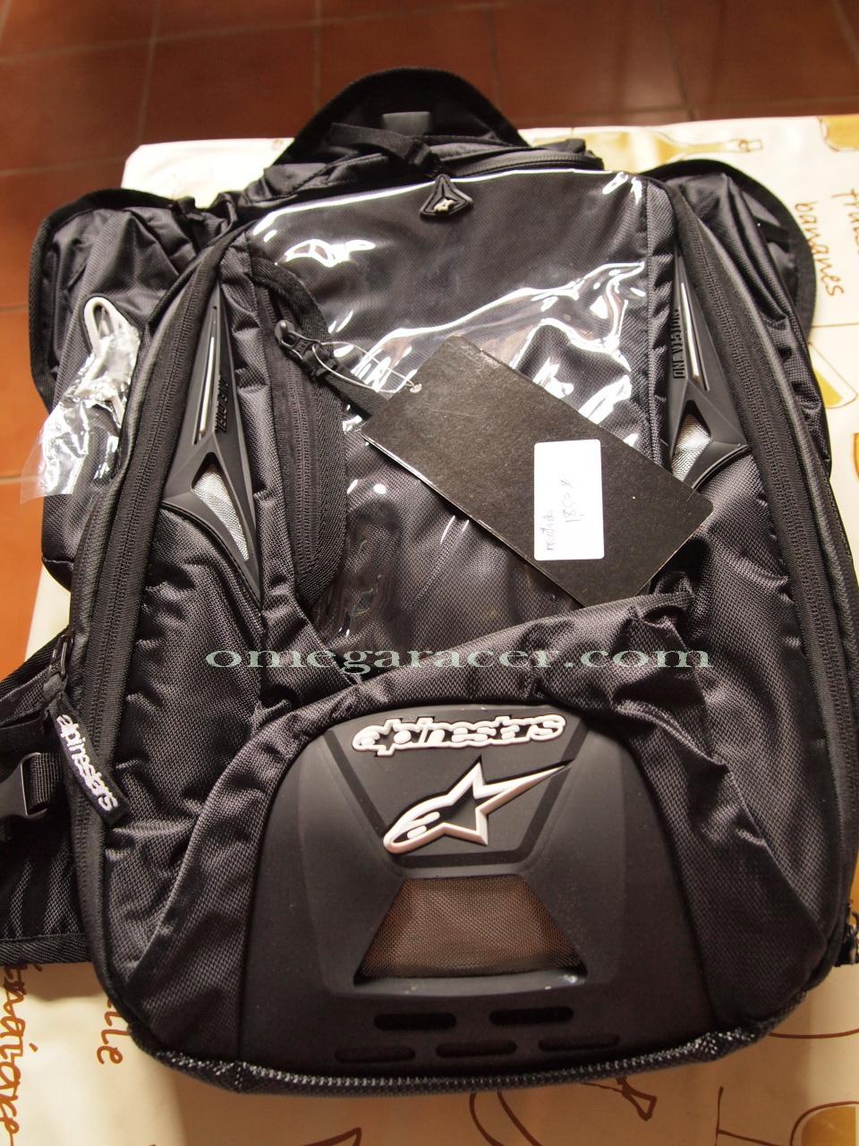 Omega racer alpinestars tech aero tank bag - Alpinestars tech aero ...