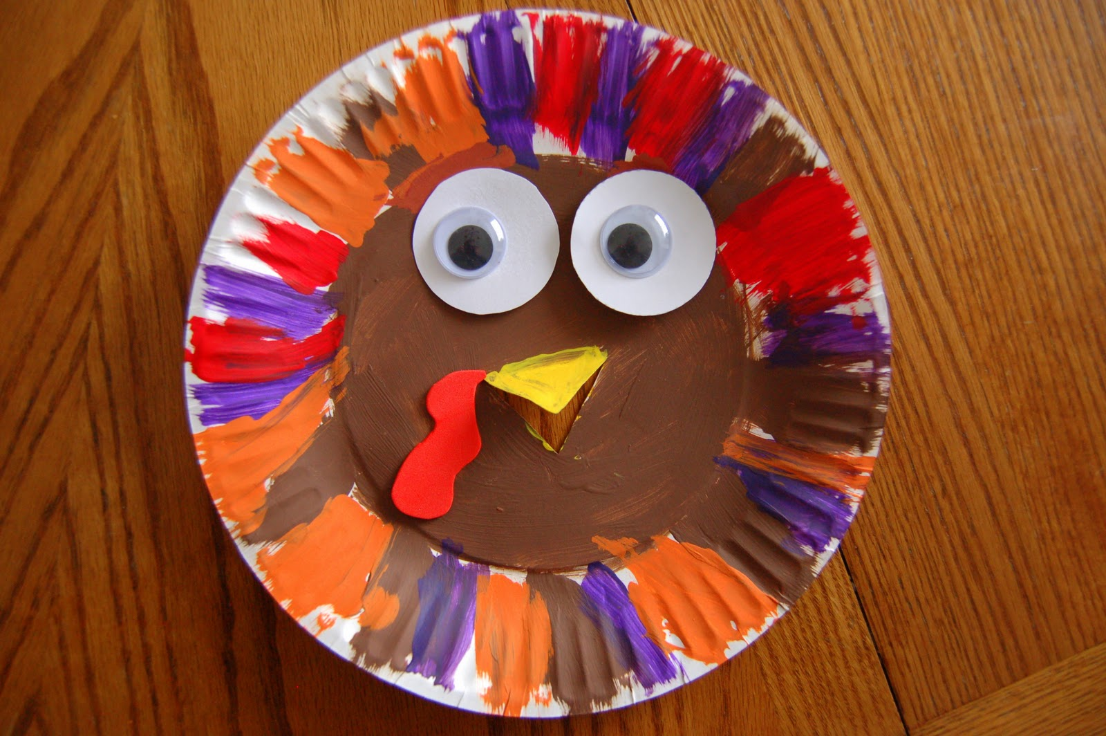 & Paper Plate Turkey | I Heart Crafty Things