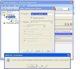 QTP Regular expressions