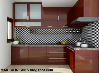 Ukuran Standar Kitchen Set Untuk Rumah Minimalis Makeadreams