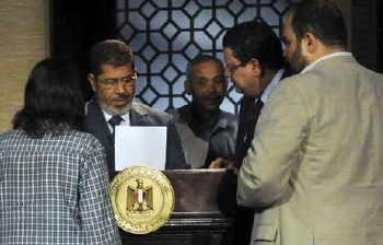 khirnya presiden mesir yang dipilih rakyat dr mursi telah diguling