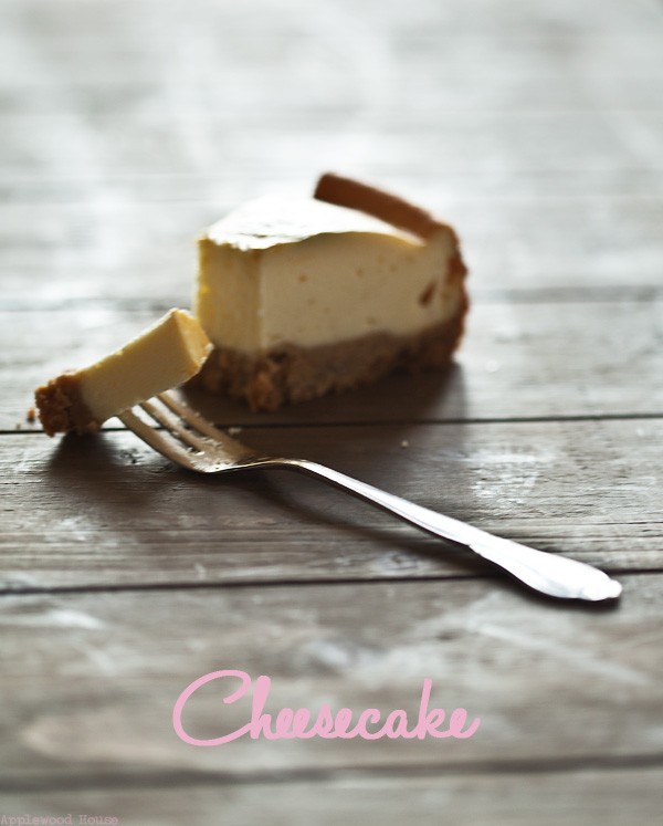 New York Cheesecake Keksboden Quark Frischkäse Backen
