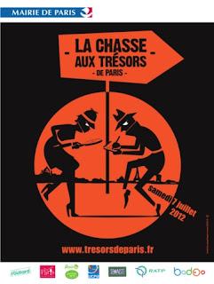 La Chasse aux Trésors de Paris 2012