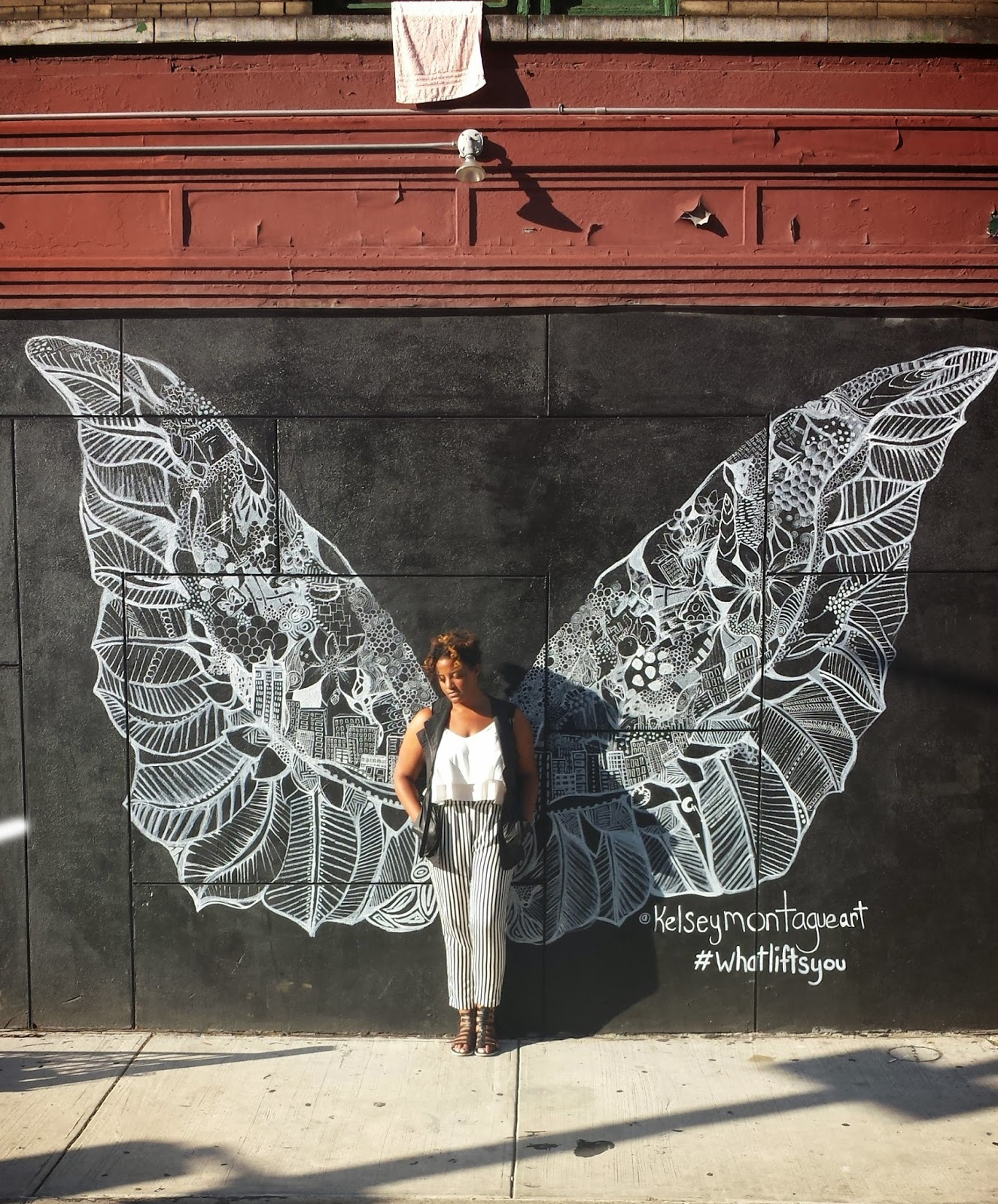 Edie's Closet - Kelsey Montague Art, Wings