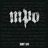 """MPO """"Deny Life"""" CD"""