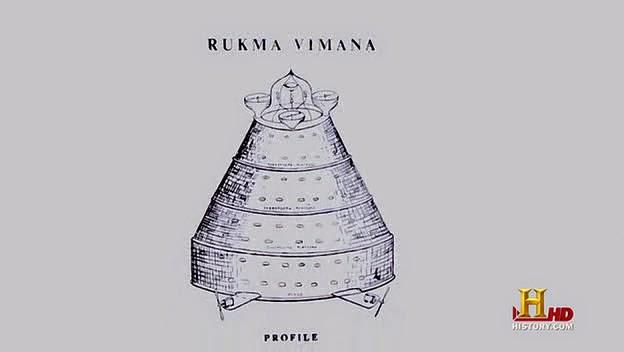 Ancient Indian Vimana Drawing Photograph