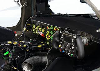 Audi R18 e-tron Quattro Cockpit