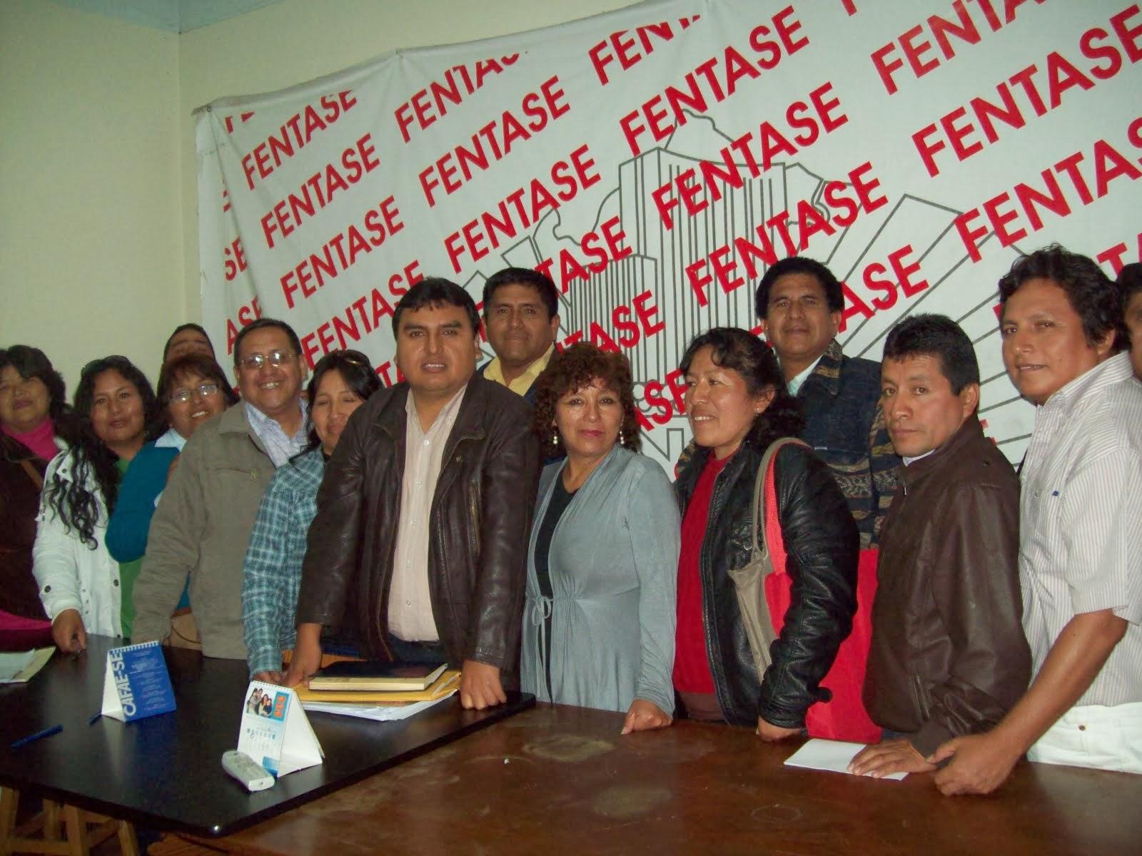 DIRIGENTES NACIONALES DE LA FENAEP