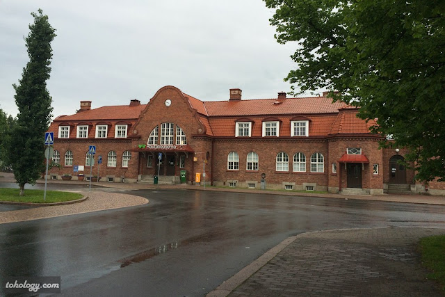 Railroad station in Hämeenlinna