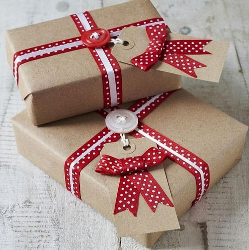 Christmad gift wrapping