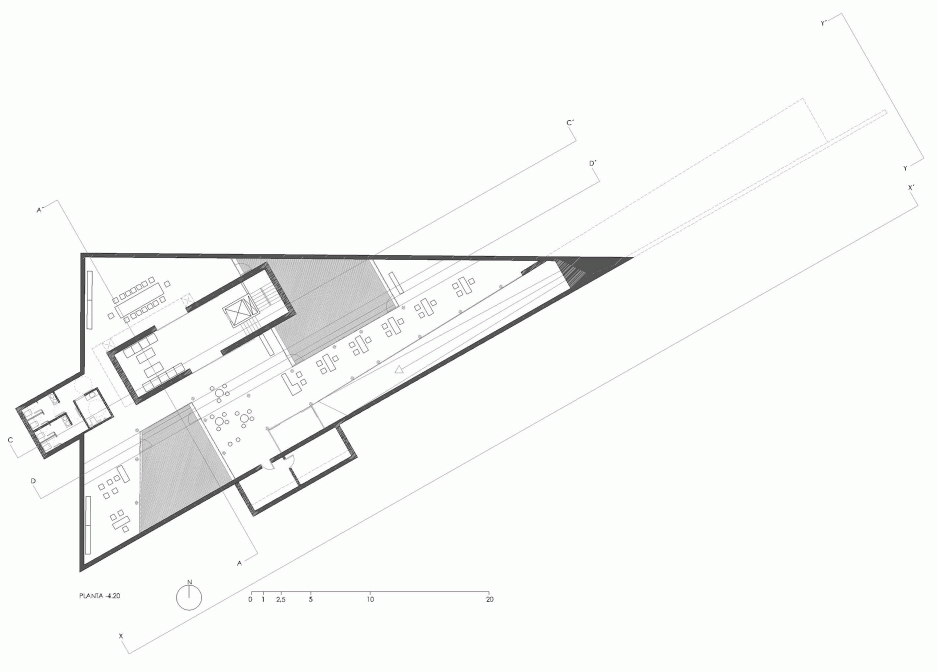 Connections triangular for Triangular house floor plans