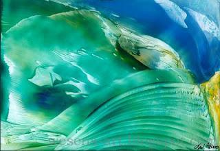 Encaustic  - Sturm   wesens-art.blogspot.com