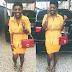 Annie Idibia wows in yellow
