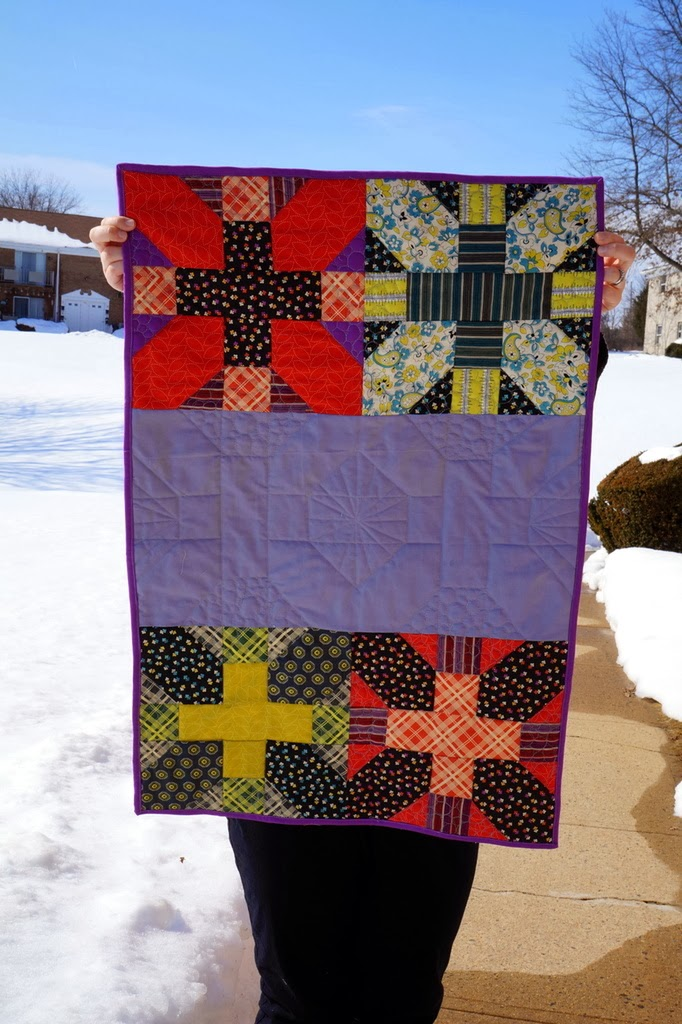http://quiltyhabit.blogspot.com/2014/02/ashleys-adored-mini-quilt.html