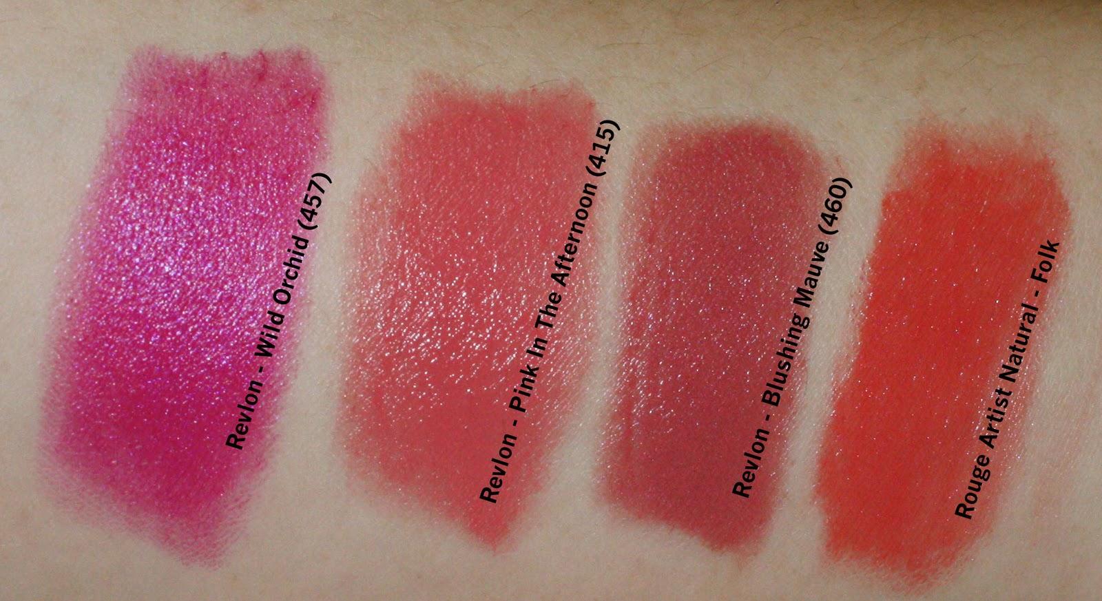 Revlon Mauve Lipstick 158 lipstick collection  iRevlon Mystic Mauve Lipstick