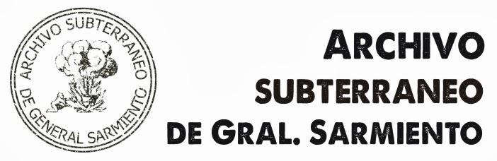 Archivo Subterráneo de General Sarmiento