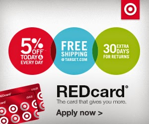 5% off and Free shipping with Target REDcard