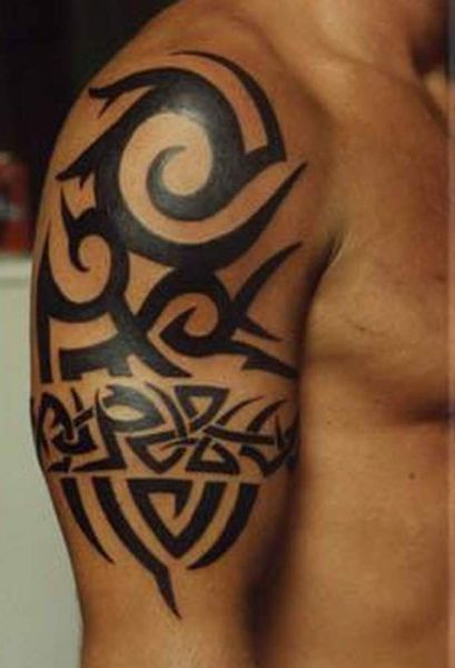 tattoo design ideas for men arm tribal tattoo design for men. Black Bedroom Furniture Sets. Home Design Ideas