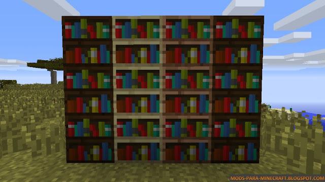 Librerías del mod WoodStuff