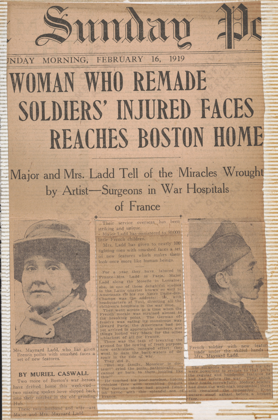 Olive tree genealogy blog the sculptor who created facial masks anna coleman ladd was a sculptor from philadelphia living in manchester massachusetts who devoted herself to helping disfigured ww1 soldiers fandeluxe Choice Image