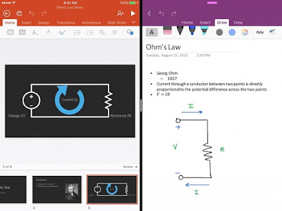 Microsoft updates OneNote for iOS with Multitasking, Spotlight search and Apple Pencil support