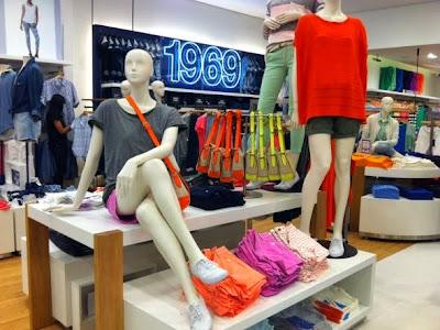 GAP inaugura primeira loja Brasil