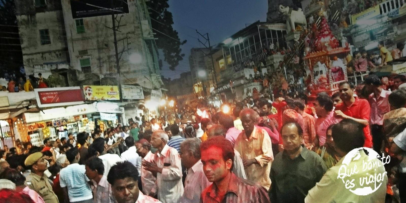 Festival de Ganesh Chaturthi en la India