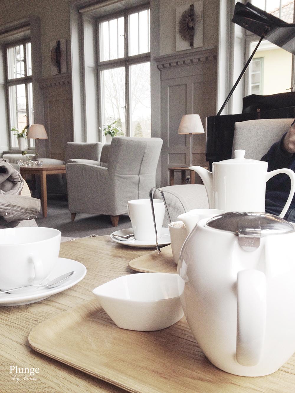 Teatime in Sigtuna Stadshotell