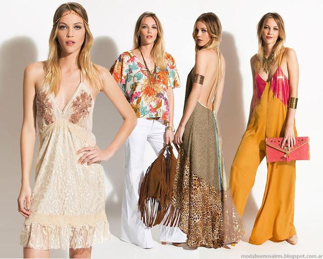 Moda 2016. Silvina Ledesma vestidos, faldas, blusas, monos Silvina Ledesma verano 2016.