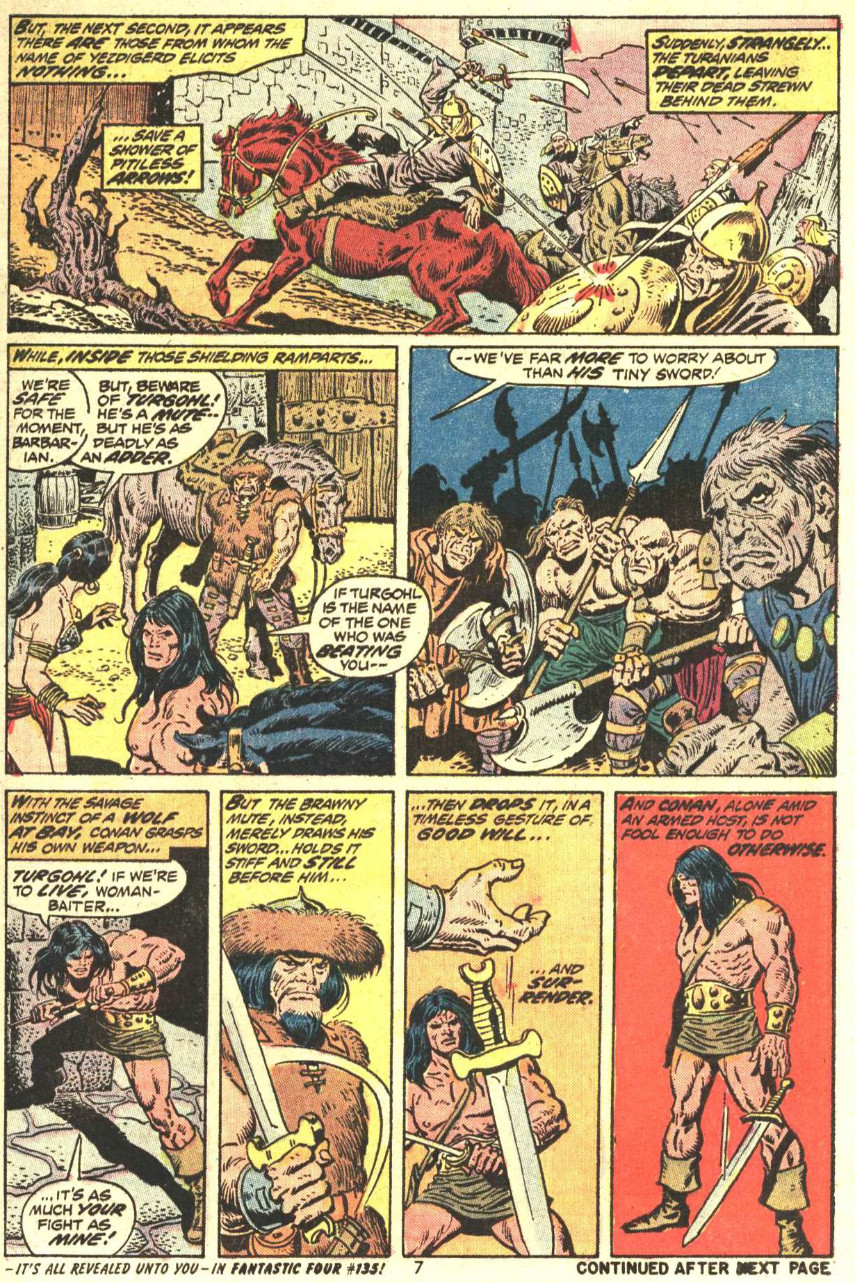 Conan the Barbarian (1970) Issue #27 #39 - English 7