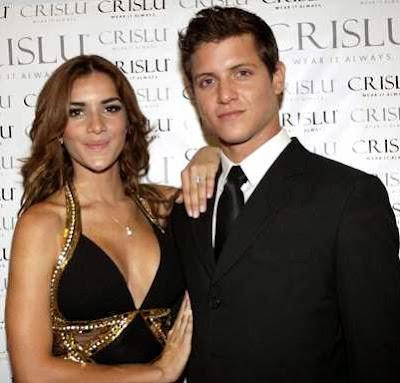 Gino Pesaressi y Korina Rivadeneira